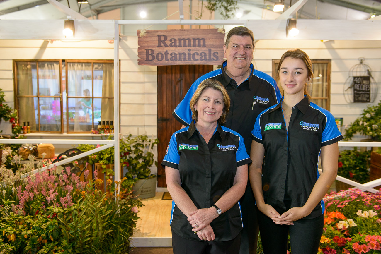 Ramm Botanicals –Greenlife Exhibition Stand Gold Award and Best in Show