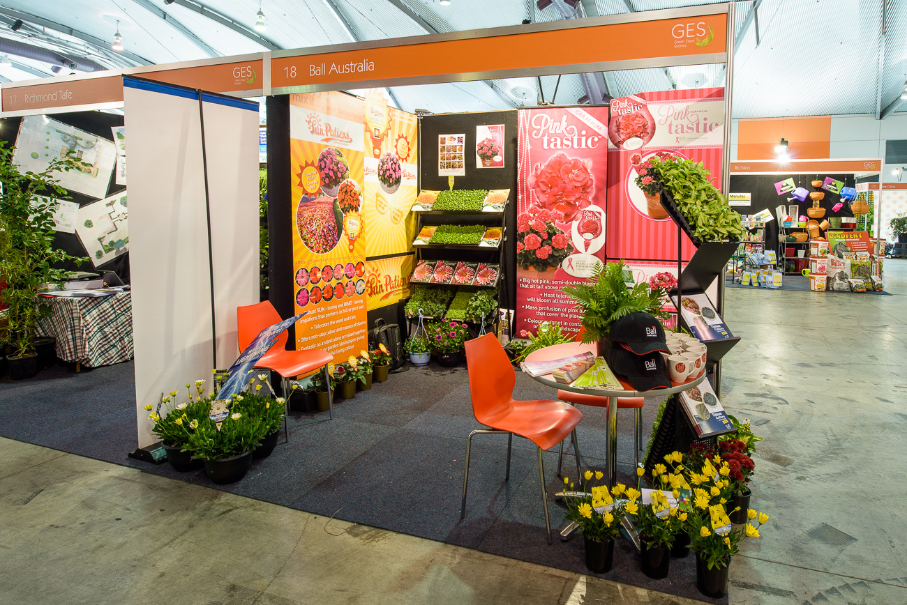 Ball Australia  – Greenlife Exhibition Stand Silver Award