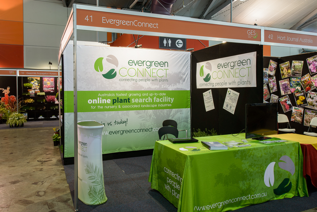 Evergreen Connect - Non-Greenlife Exhibition Stand Bronze Award