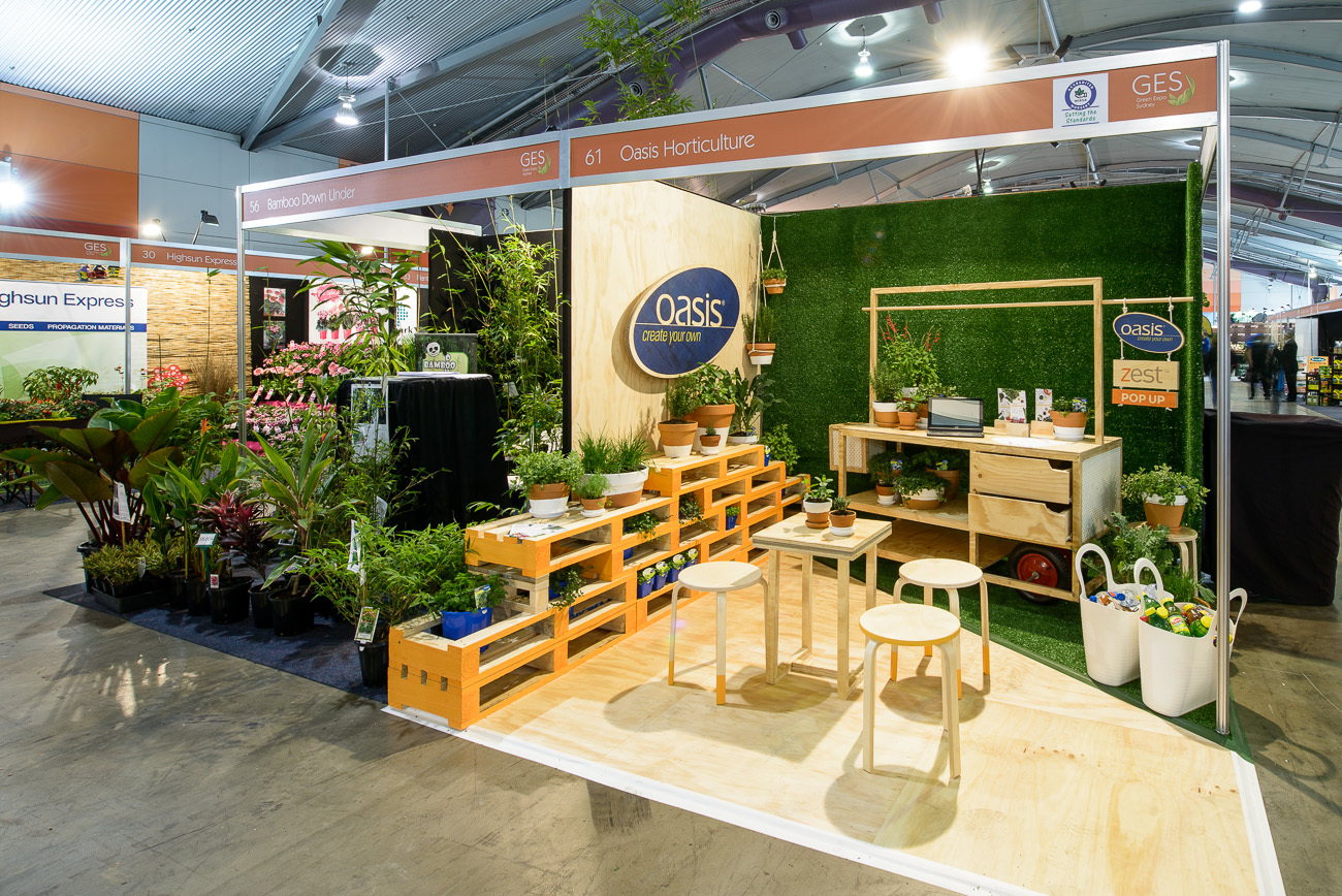 Oasis Horticulture – Greenlife Exhibition Stand Bronze Award