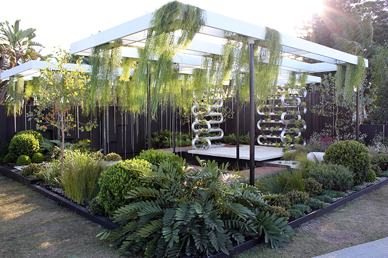 AGSS Show Garden - Suspended Winner of Best in Show